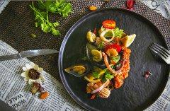 意式海鲜焗饭